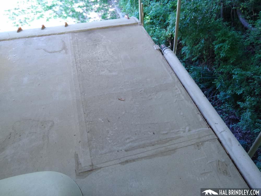 RV roof repair patch