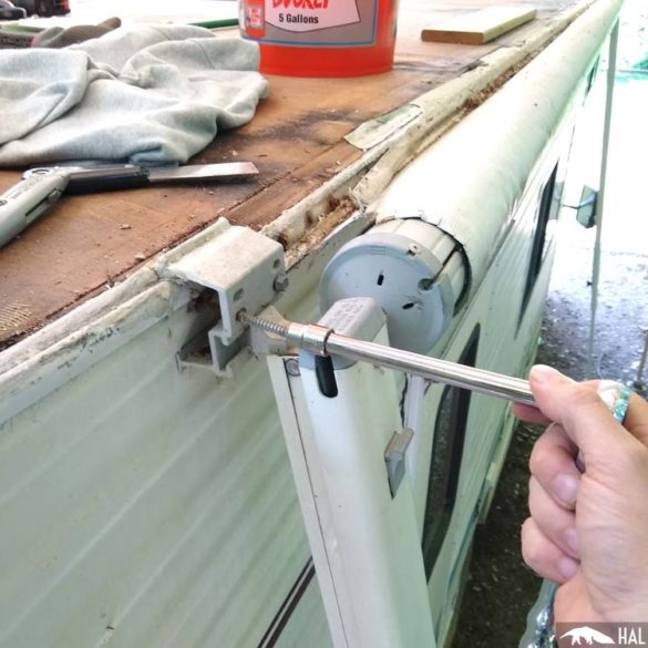rv awning replacement