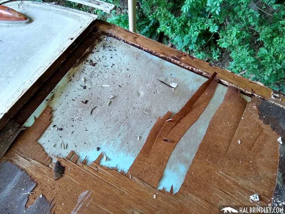 styrofoam rv insulation in roof
