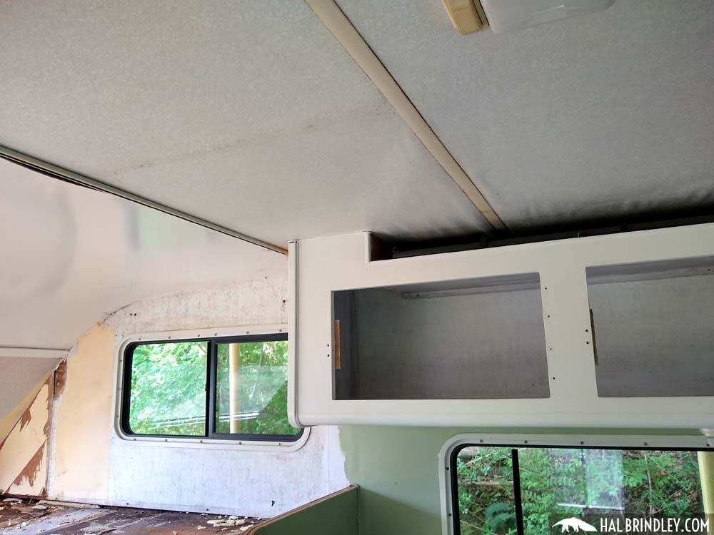 RV ceiling repair